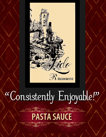 Lidos homemade Italian marinara sauce now available to order online at LidosTomatoSauce.com | spaghetti sauce, dipping marinara pasta sauce